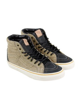 9b83b58d14 Product Image Vans Sk8 Hi 46 Ca Mens Brown Suede   Canvas High Top Lace Up  Sneakers Shoes