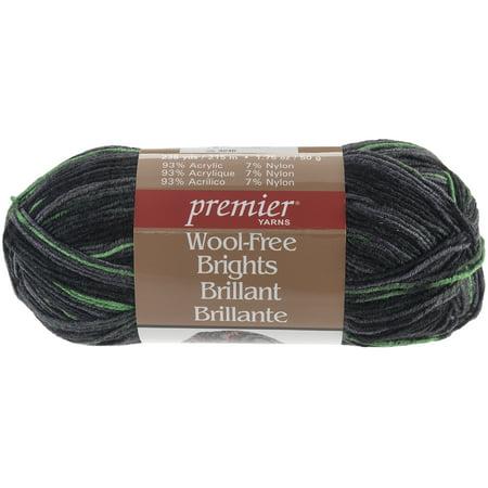 Wool Free Brights Yarn Neon Green