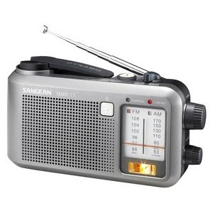 Click here to buy Sangean AM FM Emergency Crank Radio by Sangean.