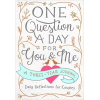 One Question a Day for You & Me: Daily Reflections for Couples: A Three-Year Journal (Paperback)