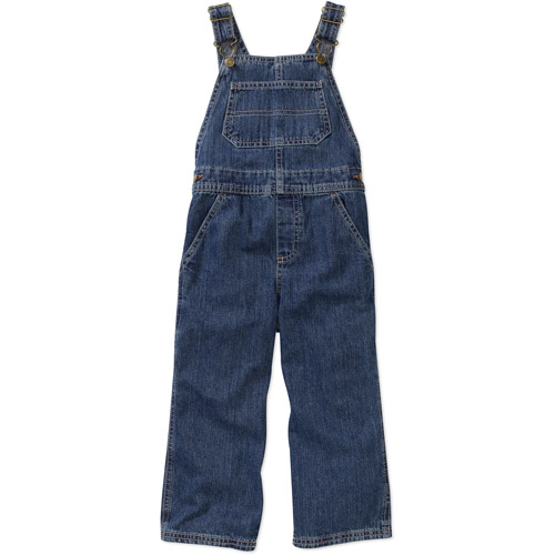 Faded Glory Baby Boys' Denim Overalls