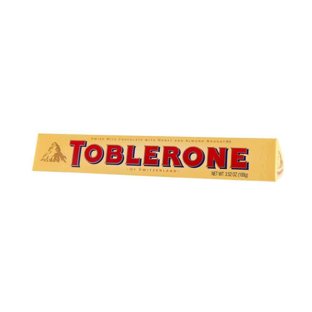 Toblerone of Switzerland Swiss Milk Chocolate with Honey and ...