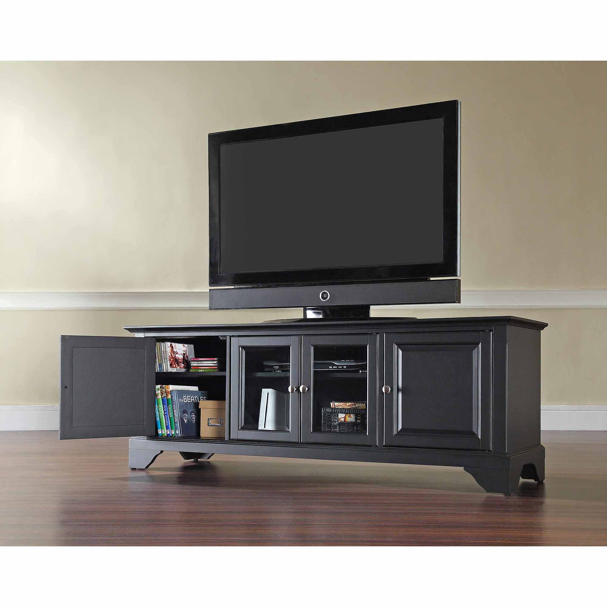 Crosley Furniture Lafayette Low Profile Tv Stand For Tvs Up To 60
