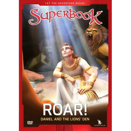 DVD-Roar!: Daniel And The Lions  Den (SuperBook)](Daniel And The Lions Den Craft)
