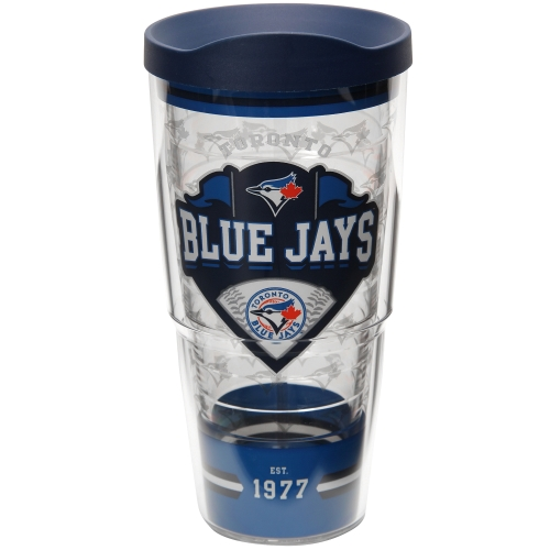 Toronto Blue Jays Tervis 24oz. Classic Wrap Tumbler with Lid - No Size