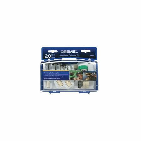 Dremel 684-01 20-Piece Cleaning & Polishing Kit
