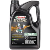 Castrol EDGE 5W-30 Advanced Full Synthetic Motor Oil, 5 QT