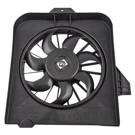 BROCK Radiator Cooling Fan Assembly Driver Replacement for 01-05 Dodge Caravan & Grand Caravan Chrysler Town & Country 4809171AE