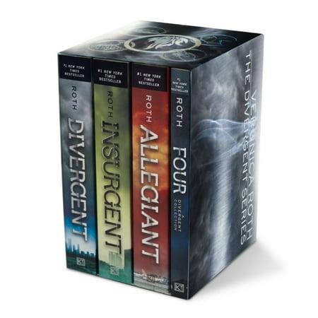 Divergent Series Four Bk Paperback Box Set