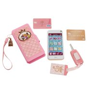 Jakks Pacific Disney Princess Style Collection Wristlet With Toy Smartphone