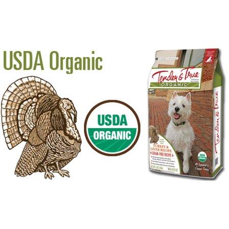 Tender Turkey - Tender and True - Organic Turkey & Liver Recipe 11 lb bag dry dog food, One Size
