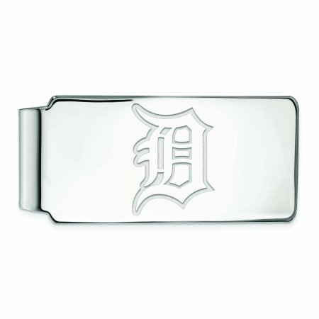 Detroit Tigers Sterling Silver Money Clip - No Size (Detroit Tigers Money Clip)