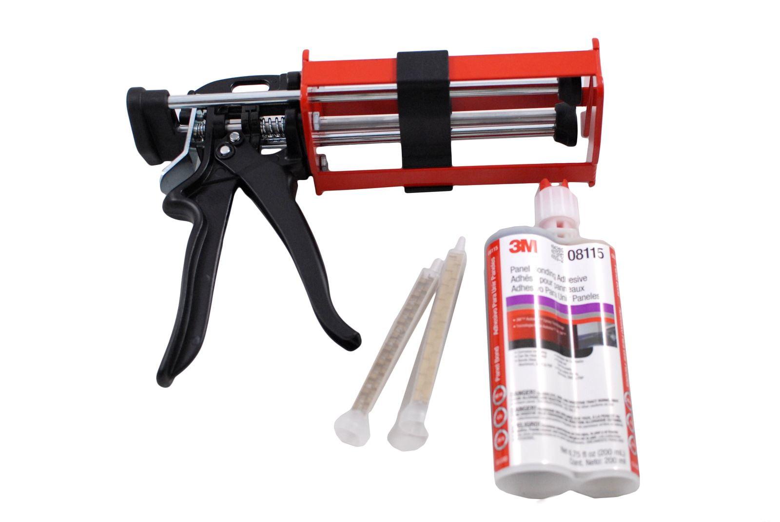 3M 08115 Panel Bonding Adhesive & 3M 08571 Manual Applicator Gun by 3M