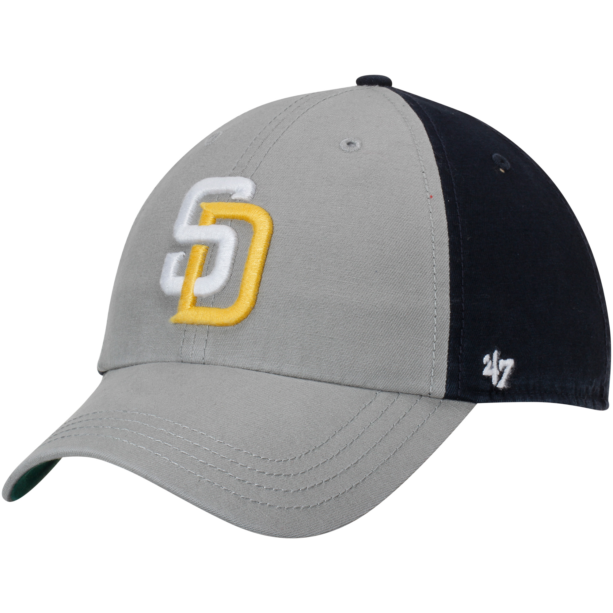 free shipping 138b8 f6155 ... switzerland san diego padres 47 flagstaff clean up adjustable hat gray  navy osfa d31c6 396c5