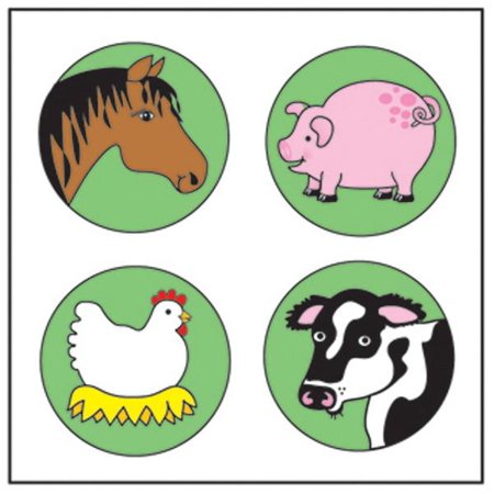Farm Animal Stickers (Incentive Stickers - Farm)