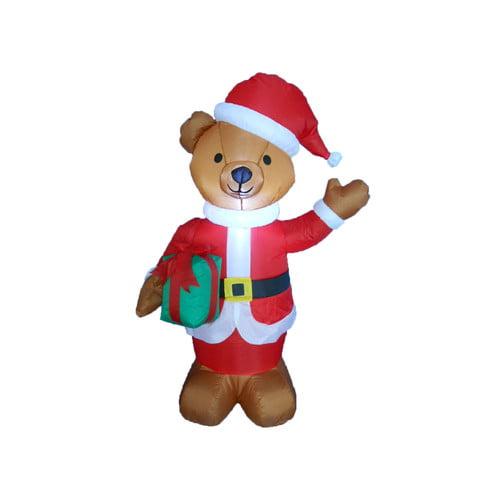 BZB Goods Teddy Bear Christmas Decoration