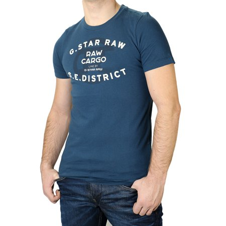 G-Star Order Logo Fashion Tee T-Shirt - Mens