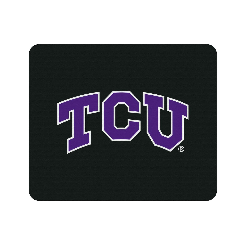 Texas Christian University Black Mouse Pad, Classic