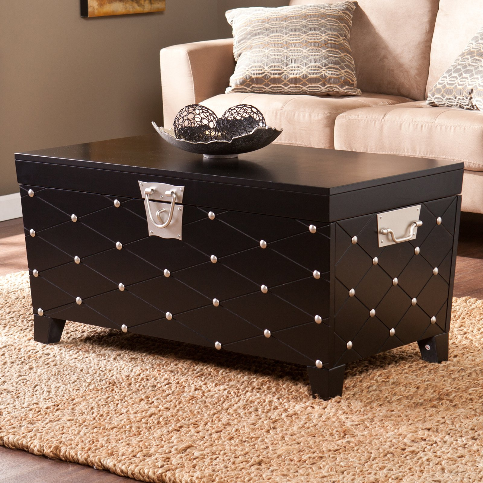 Southern Enterprises Trunk Coffee Table