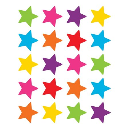 BRIGHT STARS STICKERS DIE CUT STAR SHAPE