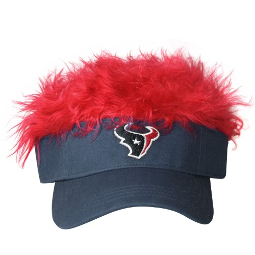 NFL Houston Texans Flair Hair Adjustable Visor, Navy
