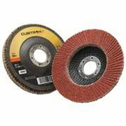 3M CUBITRON II 967A Flap Disc,T27,4-1/2in. x 7/8in.,80