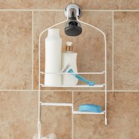 Mainstays Shower Caddy, White