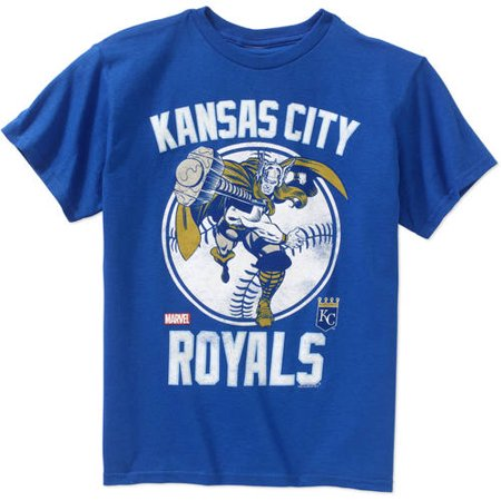 MLB Kansas City Royals Boys Thor Tee](City Boy)