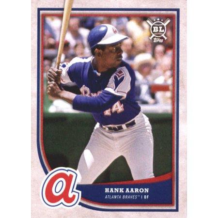 quality design b599a 5e557 2018 Topps Big League #331 Hank Aaron Atlanta Braves Baseball Card -  *GOTBASEBALLCARDS