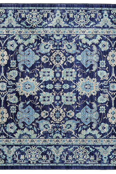 "Karastan Pacifica Voltaire Indigo (5' 3""x7' 10"") by Mohawk Carpet Distribution LP"