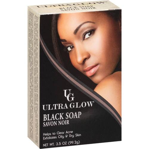 Ultra Glow African Black Soap, 3.5 Oz