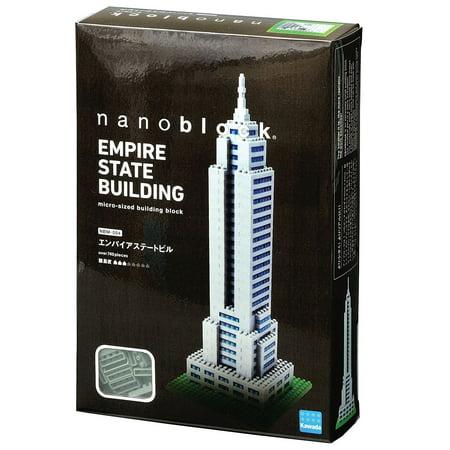 Empire State Building (Nanoblock) - Building Set by Nanoblock (NBM004) (Empire State Bulding)