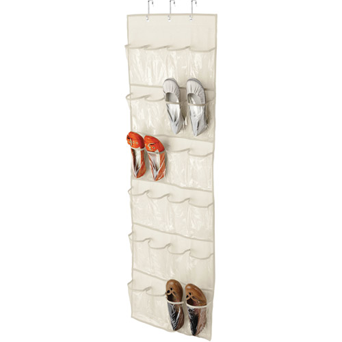 Honey Can Do 24-Pocket Over the Door Shoe Organizer by Honey Can Do