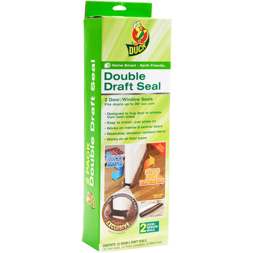 Duck Brand Double Draft Seal, 2-Pack