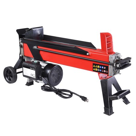 Yescom 2000W 7 Ton Electrical Hydraulic Log Splitter Firewood Wood Portable Cutter (Electric Log Splitter Stand)