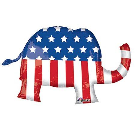 Classic Republican Elephant - Anagram Giant Election Day Republican Elephant 40