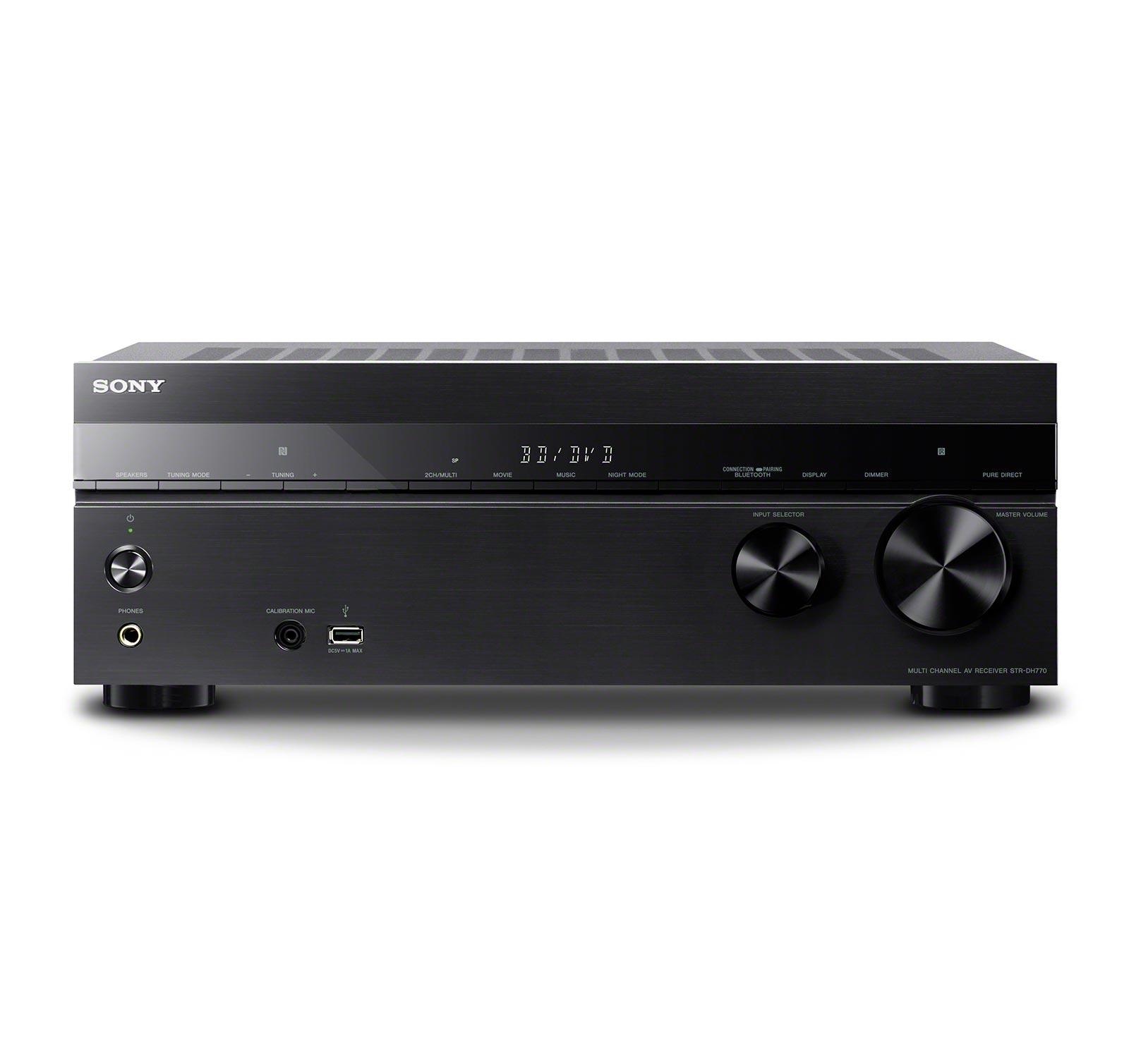 Sony STR-DH770 7 2-channel AV Receiver w/Bluetooth