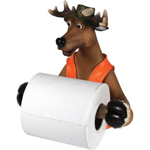 Rivers Edge Products Wallmount Cute Deer Toilet Paper