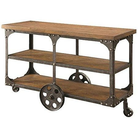Coaster 701129 Home Furnishings Sofa Table, Rustic Brown ()