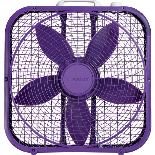 "Lasko Cool Colors 20"" Box Fan"