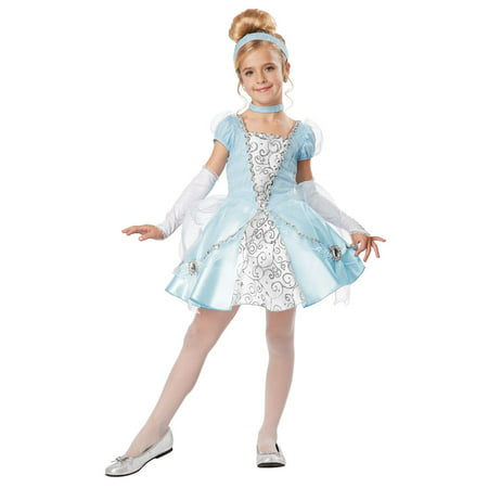 Child Cinderella Deluxe Costume by California Costumes 00417