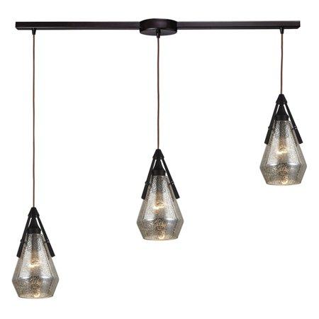 ELK Lighting Duncan Linear 3 Light Pendant