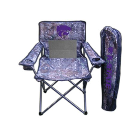 Rivalry Products 11095259 Kansas State Realtree Camo Chair