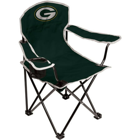 NFL Green Bay Packers Youth Size Tailgate Chair from Coleman by Rawlings - Packers Tailgate Party