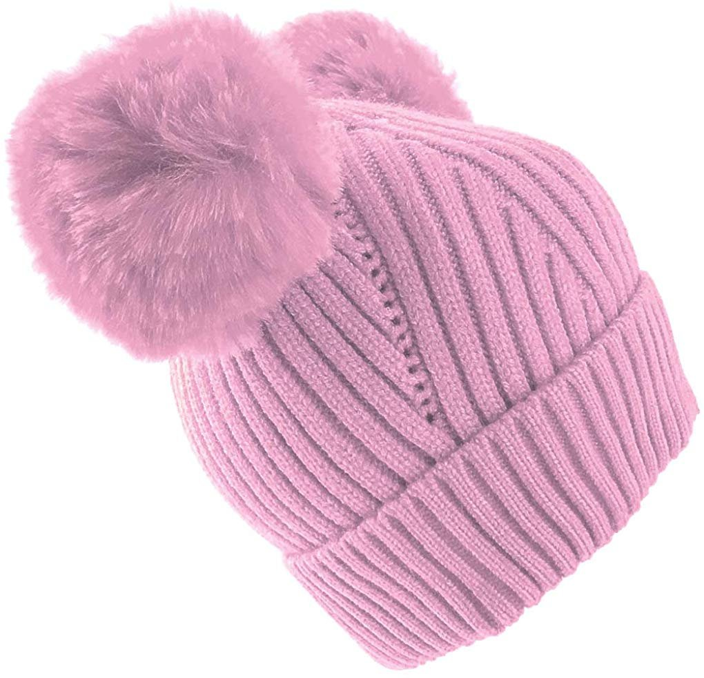 Animal Ear Baby Hats White Teddy Bear Hat Bear Beanie Infant Baby Hats Hand Knit Baby Hats Newborn Baby Hat Baby Gift