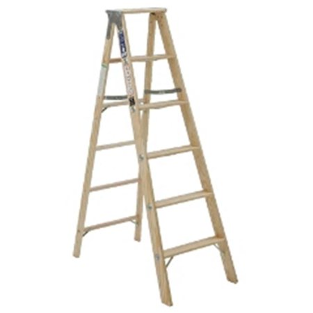 Michigan Ladder 120005 5 ft Michigan Commercial Wood Step Ladder