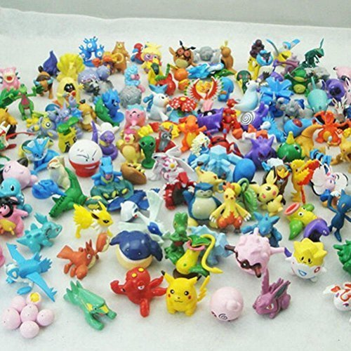 Generic Pokemon Action Figure (24 Piece), Multicolor, One Size