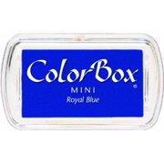 Clearsnap Colorbox Mini Pigment Inkpad, Royal Blue Multi-Colored