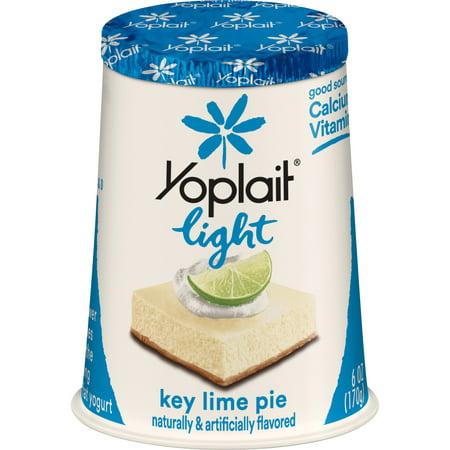 Yoplait Light Key Lime Pie Fat-Free Yogurt, 6 Oz  - Walmart com