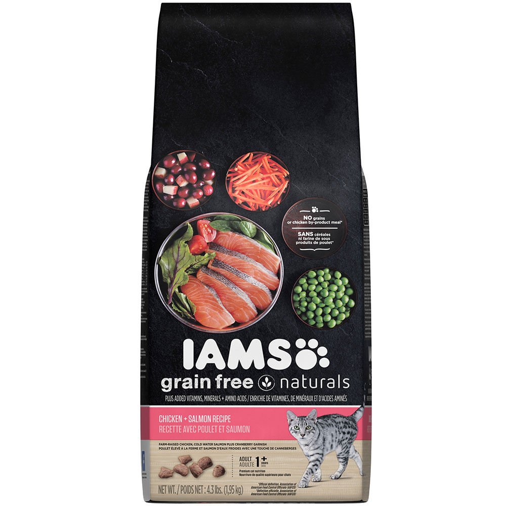 Iams grain free naturals chicken and salmon recipe dry cat food 43 iams grain free naturals chicken and salmon recipe dry cat food 43 pounds new forumfinder Choice Image